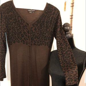 Carole Little Women's Long Knit Dress